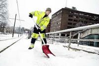 Fizyczna praca Norwegia Drammen przy odśnieżaniu bez znajomości języka 2015