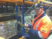 Norwegia praca na magazynie w chłodni przy zbieraniu zamówień Slitu
