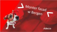Monter Fasad – Norwegia praca od zaraz w budownictwie Bergen