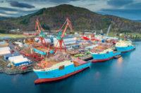 Fizyczna praca w Norwegii jako monter kadłubów okrętowych w stoczni Kleven Verft
