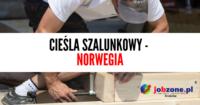 Cieśla szalunkowy – oferta pracy  Norwegii na budowie, Molde 2019